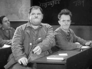 laurel and hardy school
