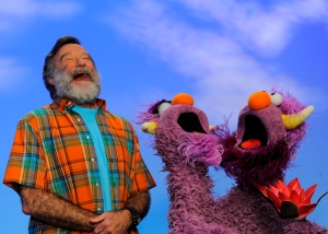 Robin Williams On Sesame Street