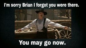 Forgot Brian