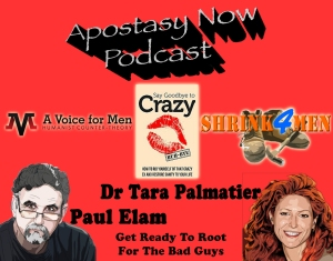 Dr Tara Palmatier and Paul Elam