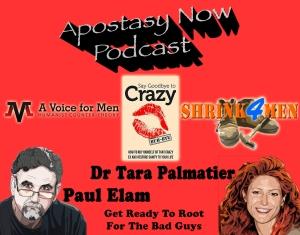 Dr Tara Palmatier and Paul Elam